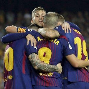 Barça Malaga pinya Camp Nou   EFE
