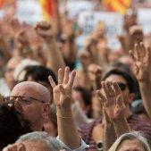 manifestacio alliberament Jordis  i contra el  155 foto laura gomez23