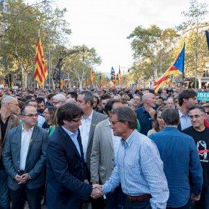 manifestacio alliberament Jordis  i contra el  155 puigdemont forcadell junqueras mas foto laura gomez01