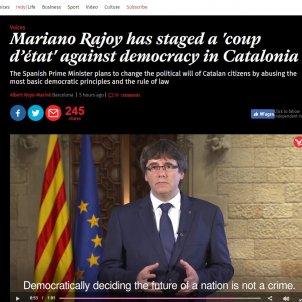 aritcle the independent 'cop d'Estat 155'