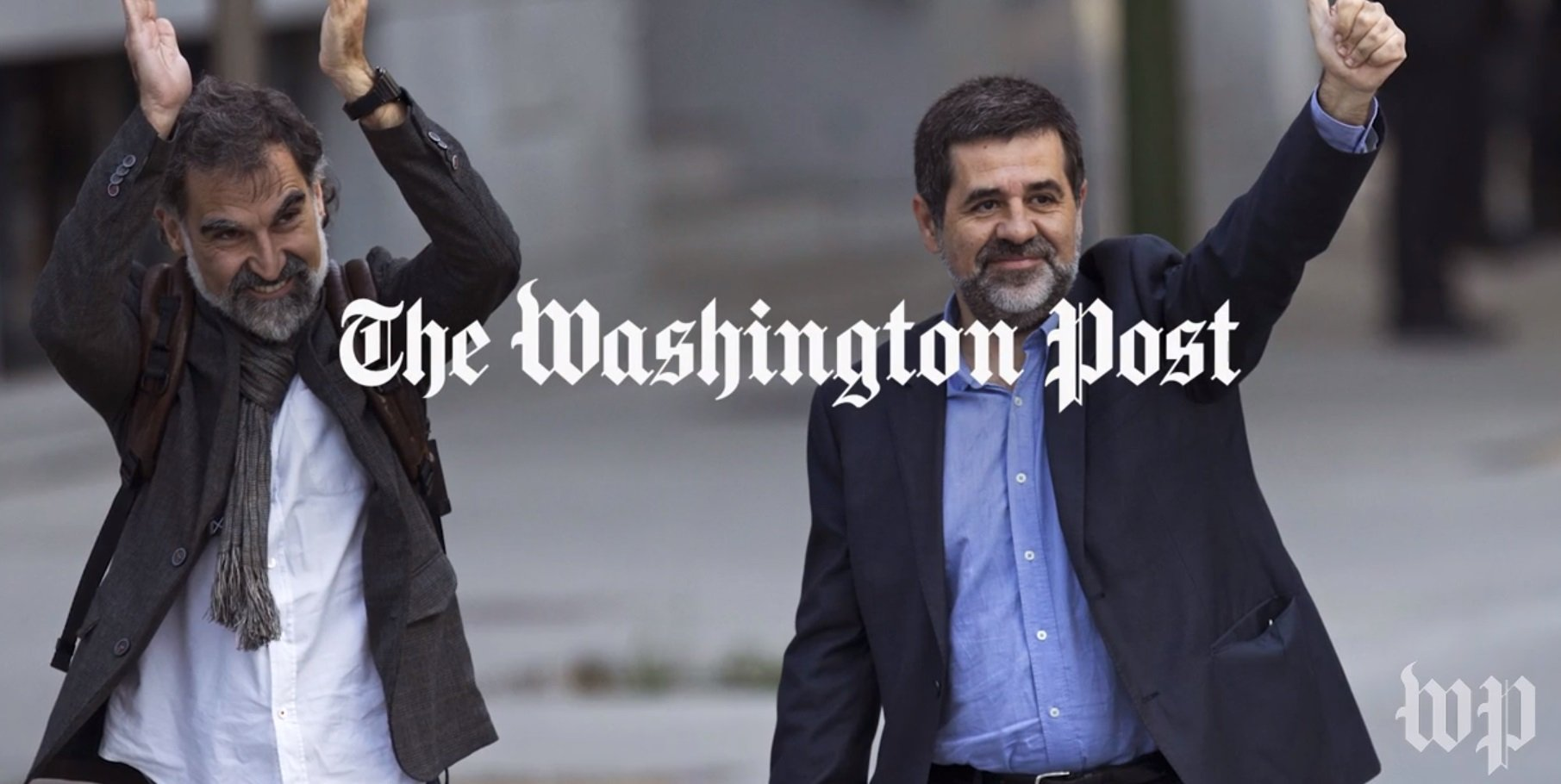 Sànchez i Cuixart Washington Post