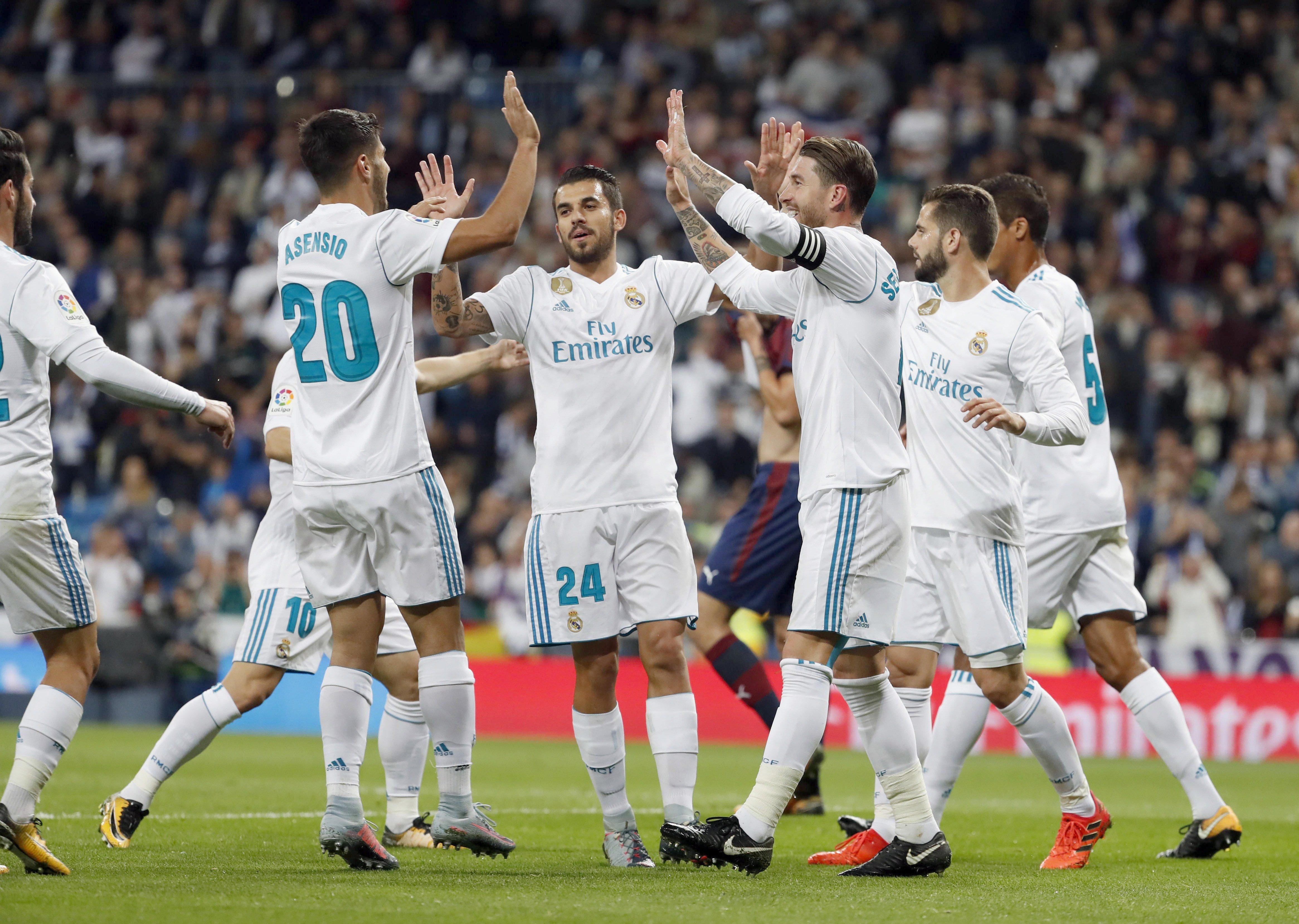 Reial Madrid gol Eibar Santiago Bernabeu   EFE