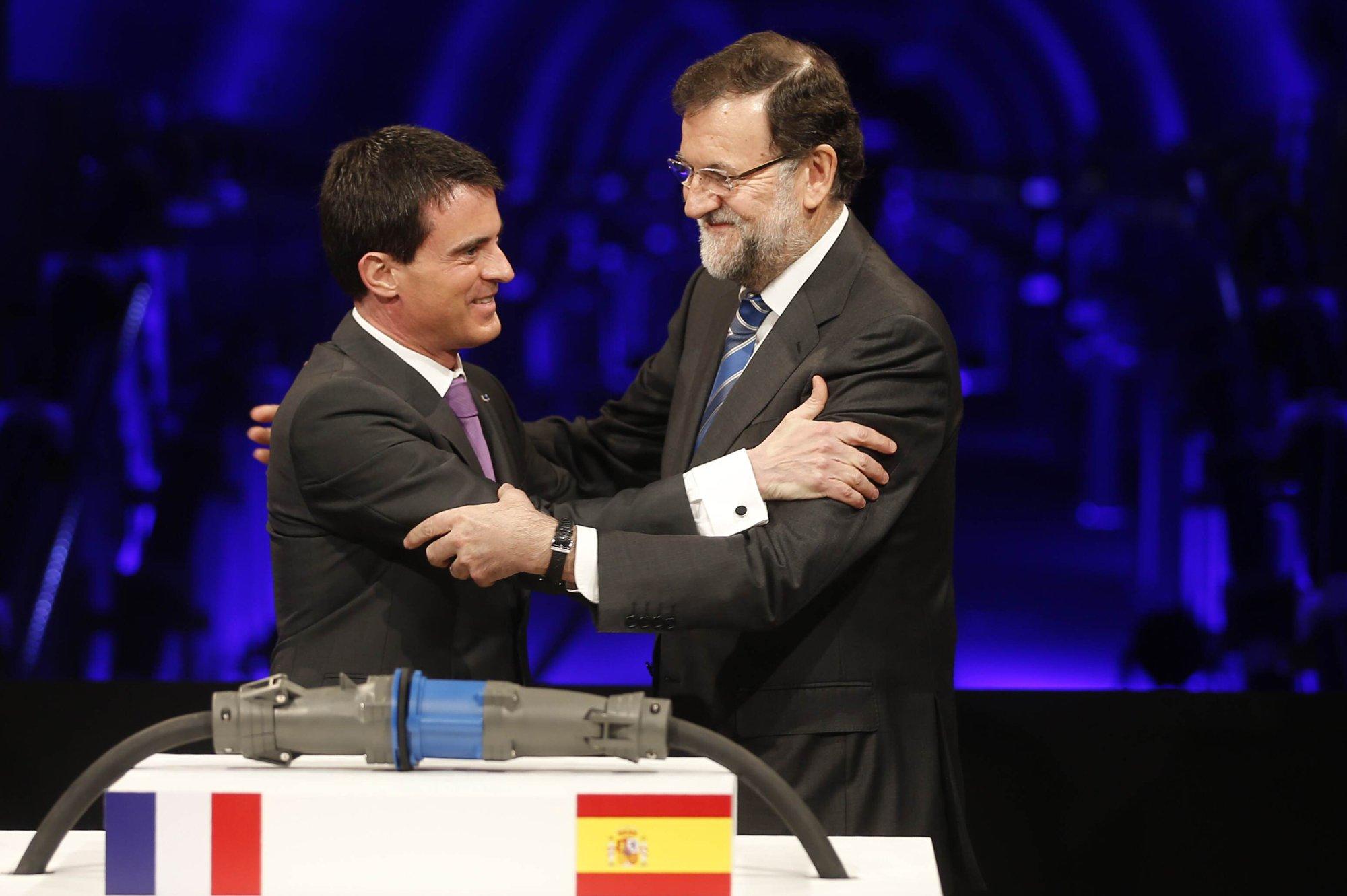 Manuel Valls i Rajoy ACN