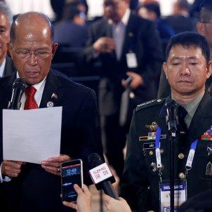 secretari defensa filipines efe