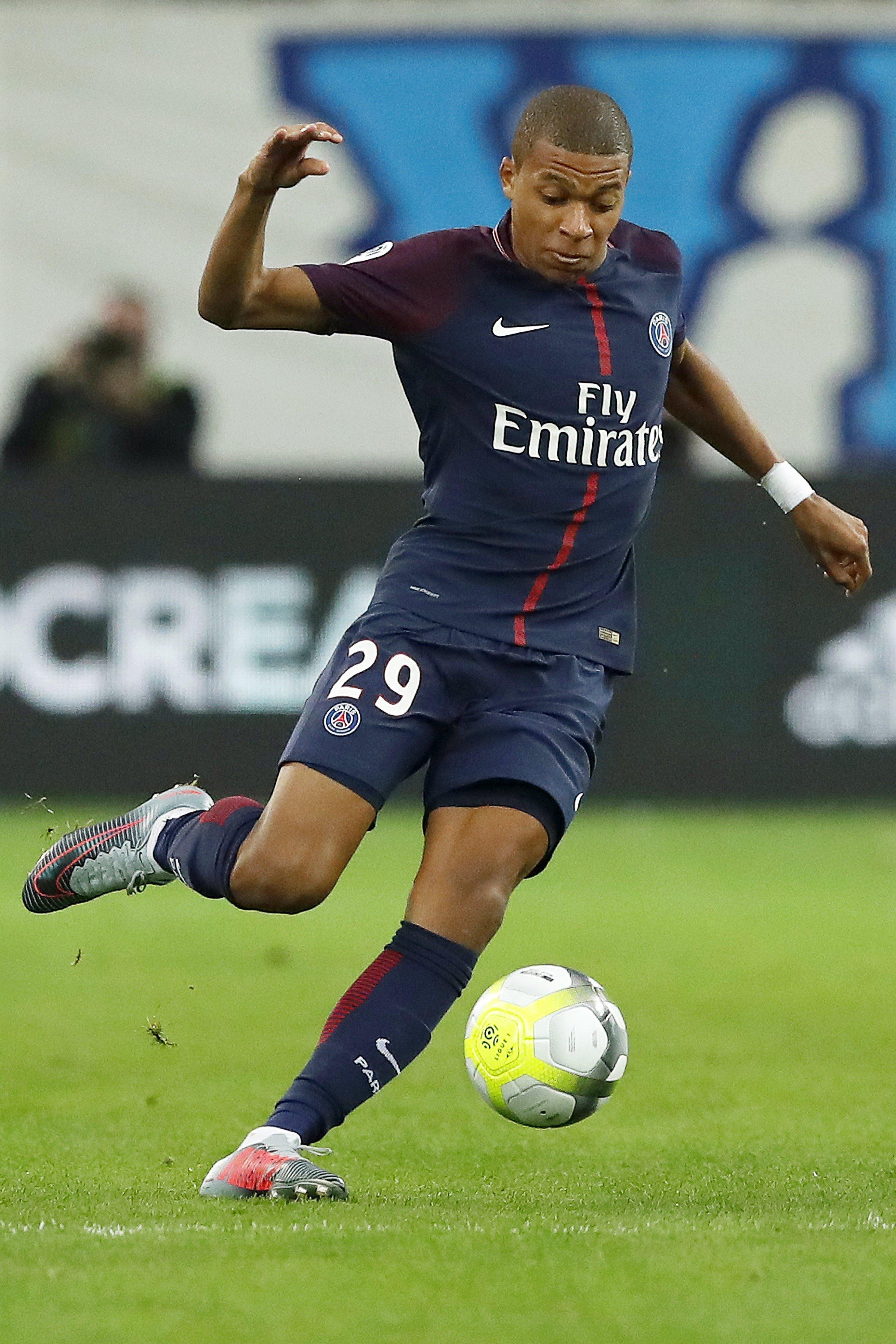Kylian Mbappé PSG Efe