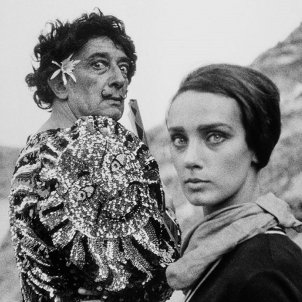 Dalí vestit clown Joana Biarnés