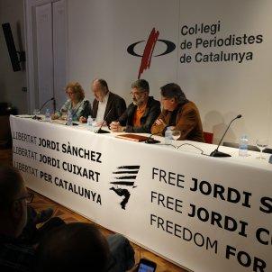 Núria Camps, Enric Marín, Carles Riera i Àngel Colom ACN