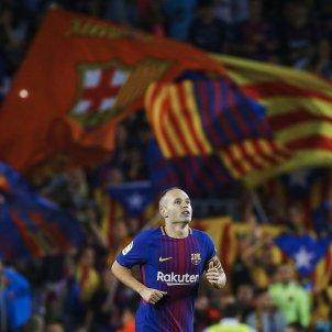 Andres Iniesta Barça Malaga Lliga   EFE