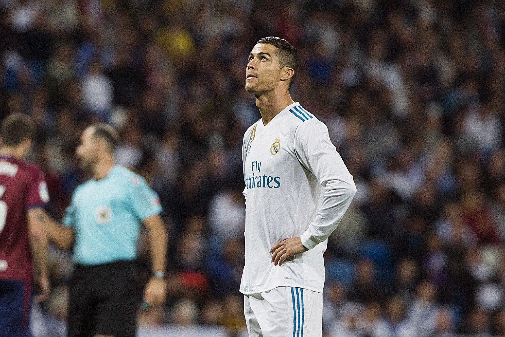Cristiano Ronaldo Madrid Eibar   EFE (2)