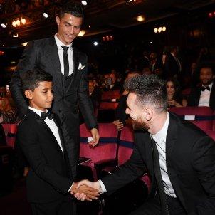 Cristiano Ronaldo Leo Messi The Best   EFE
