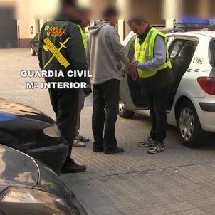 DETINGUT ST JOAN VILATORRADA 1-O - GUARDIA CIVIL