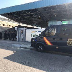 policia espanyola barra pas mossos sant adrià gemma liñán