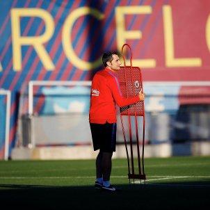 Ernesto Valverde entrenament Barça Ciutat Esportiva   EFE (2)