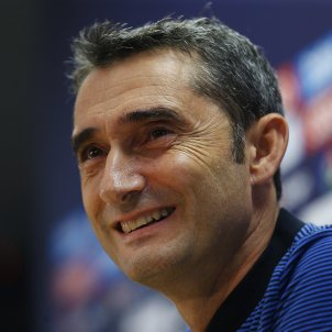 Ernesto Valverde barça roda de premsa   EFE