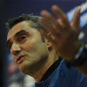 Ernesto Valverde roda premsa ciutat esportiva Barça   EFE