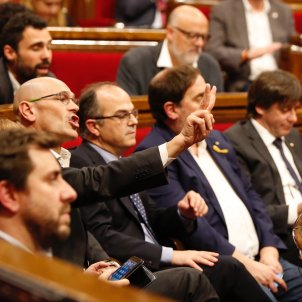 romeva turull junqueras puigdemont comin parlament 155 - sergi alcazar