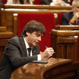 carles puigdemont parlament 155 - sergi alcazar