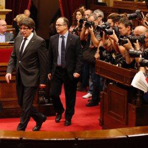 jordi turull carles puigdemont parlament 155 - sergi alcazar