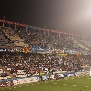 Lleida Reial Societat Copa Jordis pancartes   proseleccions