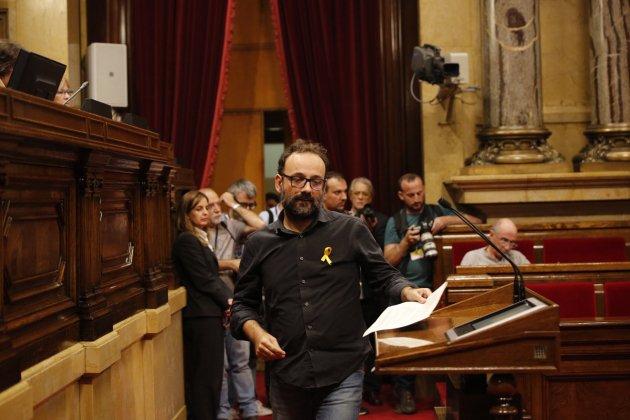 Benet Salellas Parlament - Sergi Alcazar