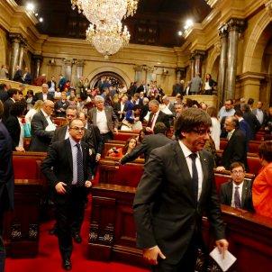 puigdemont turull general parlament 155 - sergi alcazar