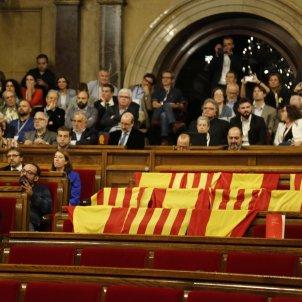Banderes espanya PP / Sergi Alcàzar