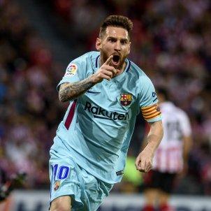 Leo Messi gol Barça Athletic - EFE