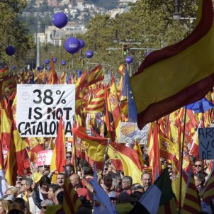 manifestacio unionista laura gomez