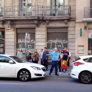 agressio taxista manifestacio unionista