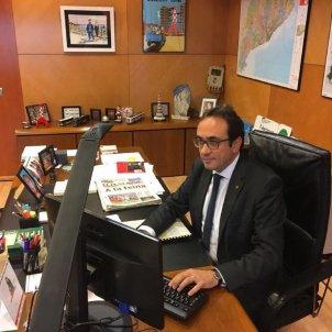 Josep Rull, a la Conselleria de Territori el primer laborable @joseprull