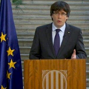 Puigdemont missatge Girona Republica catalana EFE