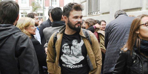 Rufián Jordi Sànchez Jordi Cuixart Audiència Nacional consellers E