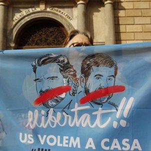 Concentració Plaça Sant Jaume Llibertat presos Independencia - Sergi Alcàzar