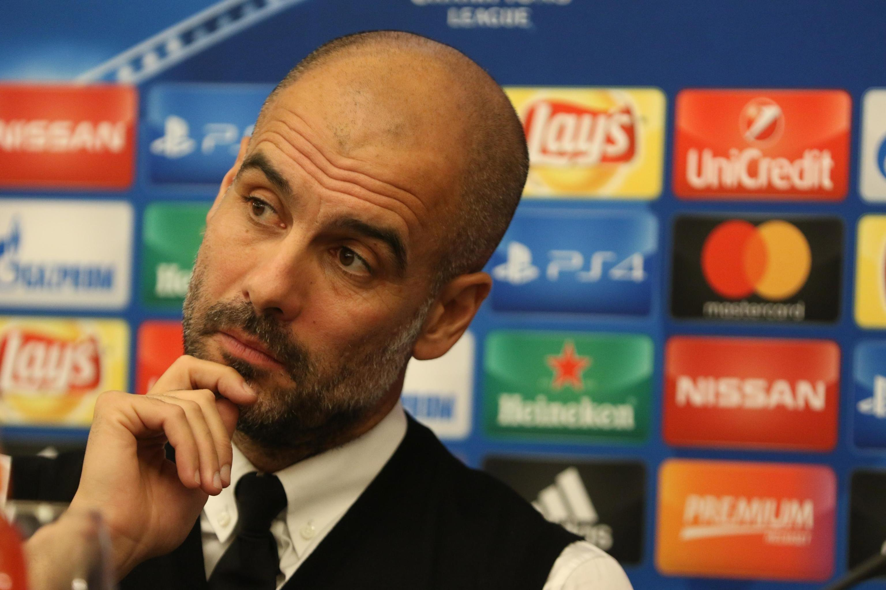 Pep Guardiola Manchester City Champions roda premsa Napols   EFE