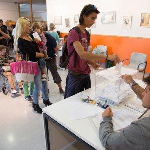 eleccions urna col·legi electoral - Sergi Alcàzar