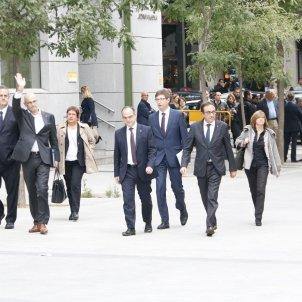 Consellers a l'Audiència Nacional presos politics / ACN