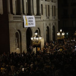 manifestacio Sant Jaume Barcelona presos polítics - Sergi Alcàzar