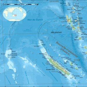 Nova Caledonia and Vanuatu