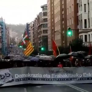 Manifestación Euskadi 4 noviembre / EN