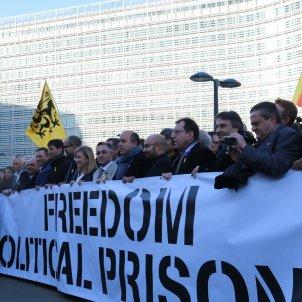 Alcaldes presoners politics Comissió Europea Brussel·les - ACN