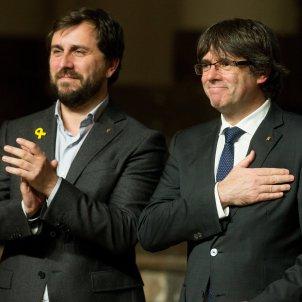 Toni Comín Carles Puigdemont - efe