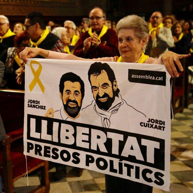 Acte Ub Llibertat Jordis - Sergi Alcàzar