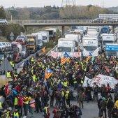 Aturada de País carreteres Catalunya ACN