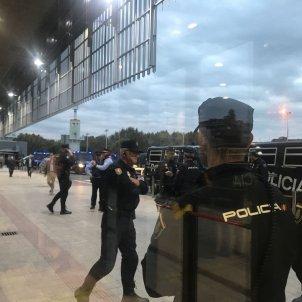 Antiavalots Policia Nacional Sants Gemma Liñán