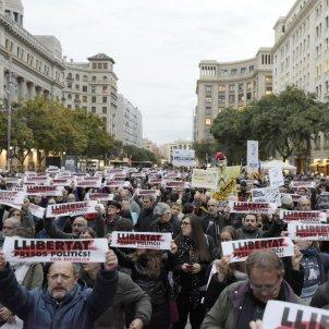 Manifestació vaga 8-N empresonaments - Laura Gómez
