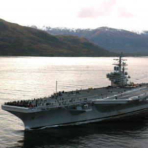 USS RONALD REAGAN portaavions nuclear foto wikipedia