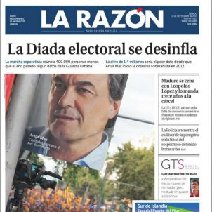 La Razón Diada 2015