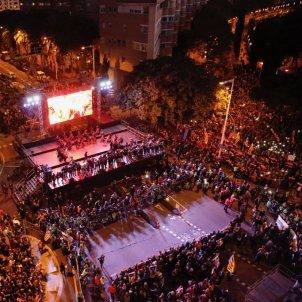 manifestacio presos politics escenari sergi alcazar