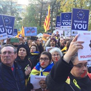 manifestacio bruselas carlota camps