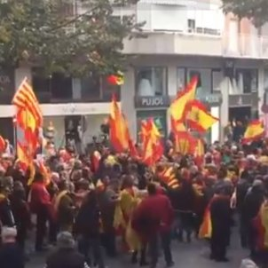 manifestació unionista Manresa